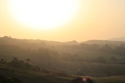 morning sun on Bintumani