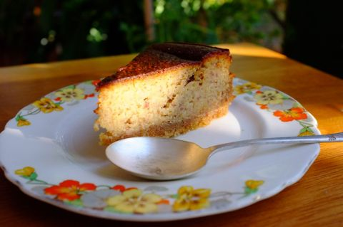 A slice of Persian love cake